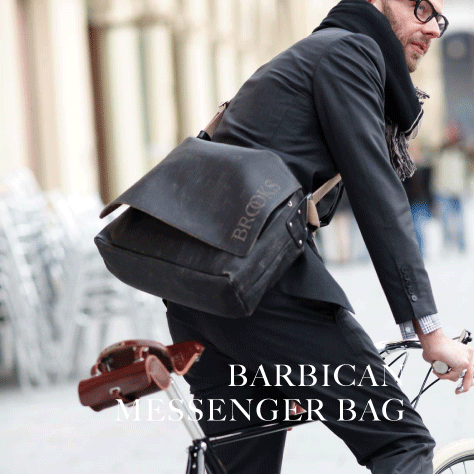 BARBICAN MESSENGER BAG