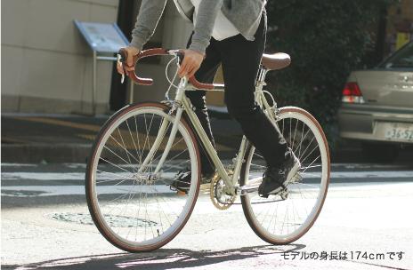 自転車の 自転車 フジ : シックなデザインなので、オン ...